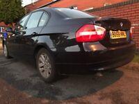 BMW 320d, Cream Leathers, Parking Sensors, Folding Mirrors, Good condition