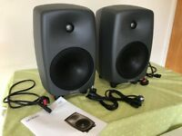 Genelec 8050B Compact Active Monitor - Dark Grey - Pair