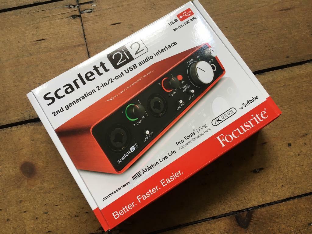 Focusrite Scarlett 2i2 (2nd Gen) USB Audio Interface | in Stoke Newington,  London | Gumtree