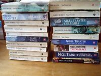 BOOKS - 3 separate Collections: Nigel Tranter; Crime and Mystery; Christine Marion Fraser