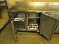 frigmac CK7410 4 Door fridge counter in stainless steel GOOD CLEAN CONDITION,,,