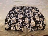 New Unworn Next Floral Print Men's Shorts