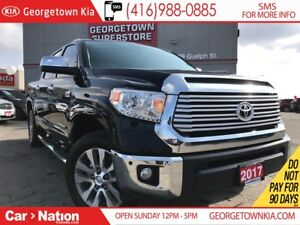 2017 Toyota Tundra LIMITED LEATHER| ROOF| NAVI| ONE OWNER| LIKE