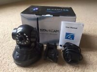 VStar Cam IP Camera - HD - Wireless Wifi - Voice/Speaker - Webcam Baby/Pet Monitor - Smartphone App