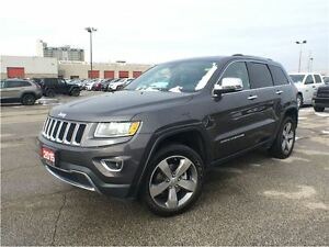 2015 Jeep Grand Cherokee LIMITED**LEATHER**8.4 TOUCHSCREEN**SUNR