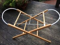 Mothercare Moses basket stand only