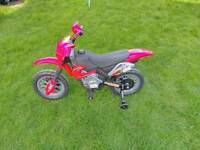 Childs / kids electric motorbike