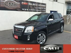 2013 GMC Terrain SLT-2 V6 AWD LEATH ROOF CAM CHROMES *CERTIFIED*