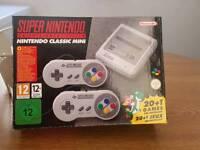 Super Nintendo mini fully loaded