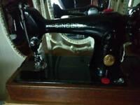 Beautiful singer sewing machine