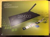 Wacom bamboo pen graphics tablet unused gift