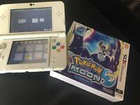 'New' Nintendo 3DS with Pokemon moon fan edition