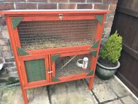 Reluctant Sale of Bowie our Rabbit with Hutch