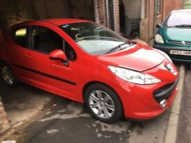 PEUGEOT 207 SPORT RED 5FW DAMAGED SALVAGE BREAKING SPARE PARTS 2007-2012