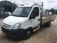 IVECO DAILY 35C12 ALLOY DROP SIDE TRUCK 2007, DRIVES WELL, JUST OUT OF MOT £2150