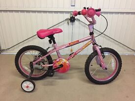 "Girls pink Apollo 16"" Bicycle"