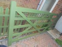 5 BAR GATE FOR DRIVE GARDEN FARM DRIVEWAY WHY LARGE