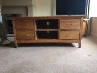 Laura Ashley Solid Oak TV cabinet