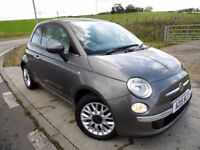 FIAT 500 1.2 LOUNGE 3d 69 BHP 6 Month RAC Parts & Labour Warranty