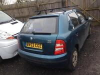 Skoda fabia 1.2..full year mot