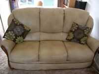 Italian Leather 3 Piece Suite