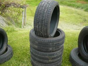 four 255-40-19   tires   $300.00