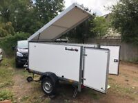 Excellent low mileage Brenderup Cargo Trailer for sale