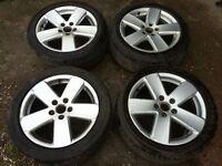 "Volkswagen Passat Sport 17"" Monte Carlo 5 spoke Alloy wheels"