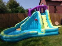 Little Tikes Slam n Curve Inflatable waterside