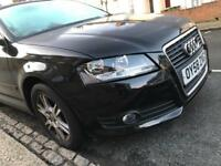 Audi A3 NO CAT HPI CLEAR LOW MILEAGE 72500 3 PREVIOUS OWNER