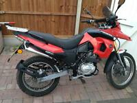 Supermoto motorini EPX 125
