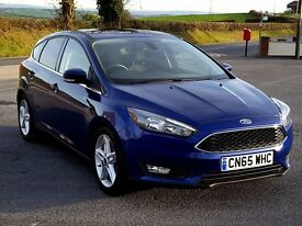 2015 65 Ford FOCUS Zetec 1.5 TDCi, One Owner, Warranty to 2018. Zero Rd Tax, Exonomical and Imm...