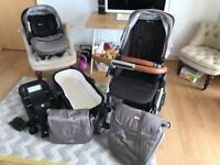 Silver Cross Wayfarer Chelsea Pram/Pushchair CarryCot, Car Seat, Isofix, bag!!