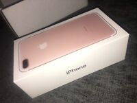 Apple iPhone 7 Plus Rose Gold ( NEED GONE ASAP)