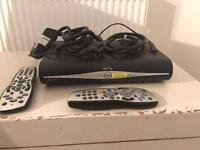 Sky HD unit and remote