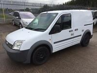 FORD TRANSIT CONNECT T200 WITH SIDE LOADING DOOR, 2007/57 PLATE.