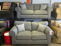 3+2 Grey Fabric Sofa Set BRAND NEW 3 SEATER + 2 SEATER