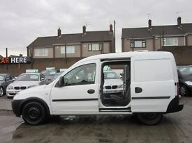 Vauxhall Combo 1.7 CDTi 16v 2000 Panel Van 3dr DOUBLE SIDE DOORS + REAR SEATS