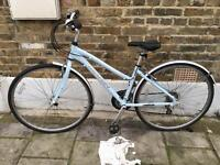 Ladies hybrid road bike (womens / girls) comfy commuter bicycle