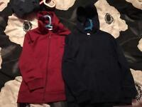 2 new kangaroo poo hoodies. Age 9-10