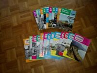 Rare Modern Railway and Trains Illustrated magazines 1960s onwards.