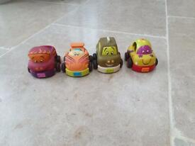 Mamas & Papas Pull back racer cars
