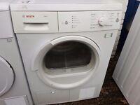 7KG BOSCH EXXCEL condenser dryer, excellent condition, 3 months warranty