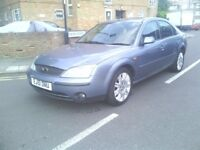 FORD MONDEO GHIA DIESEL LONG MOT OCTOBER PX WELCOME