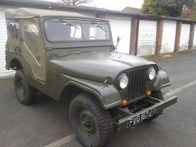 Military CJ5 jeep