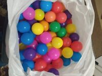 250+Pcs Colourful Pit Balls Soft Plastic, Toy Kids Baby, Swim Pool