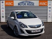Vauxhall Corsa SRI (MUST BE VIEWED, STUNNING) FREE MOT'S AS LONG AS YOU OWN THE CAR!!!! (white) 2012