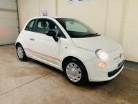 Fiat 500 pop 1.2 in stunning condition £30 road tax 2 lady owners long mot service history