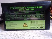 BRAND NEW....ATX SWITCHING POWER SUPPLY MODEL ATX-500B....for computer £15
