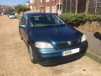 Vauxhall Astra 1.6l petrol 11 months MoT great clean condition, has both keys low milage